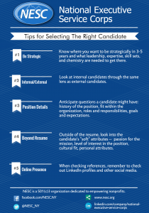 Tips for Selecting the Right Candidate